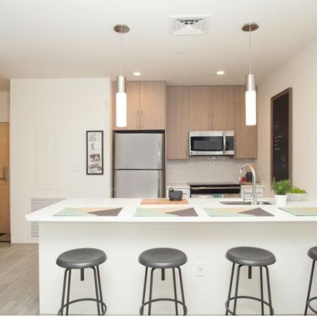 Modern Kitchen | Brighton Allston Apartments | TRAC 75