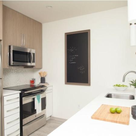 Luxurious Kitchen | Luxury Apartments In Allston MA | TRAC 75