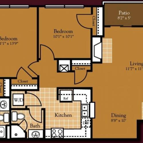 Cumberland Apartments: 1 Bed / 1 Bath Apartment In CUMBERLAND RI