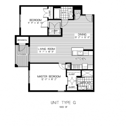 Floor Plan 6 | Apartments For Rent In Stoughton MA | Residences at Great Pond