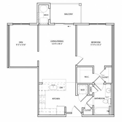 Floor Plan 6 | KW6 | Overlook at Franklin Square
