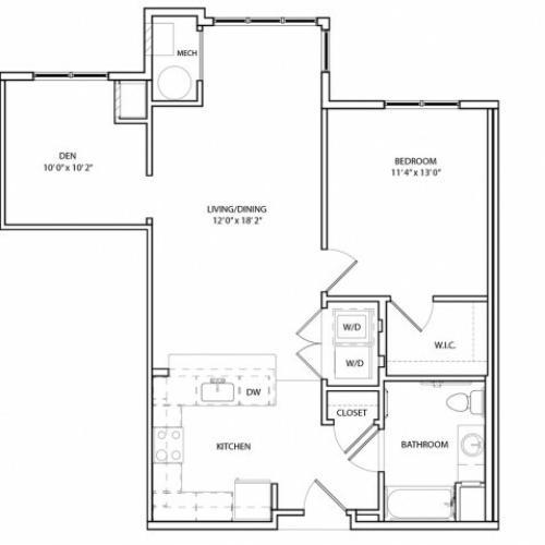 Floor Plan 7 | KW7 | Overlook at Franklin Square