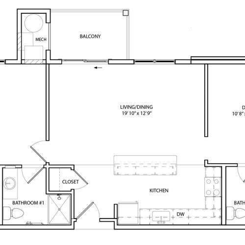Floor Plan 9 | KW9 | Overlook at Franklin Square