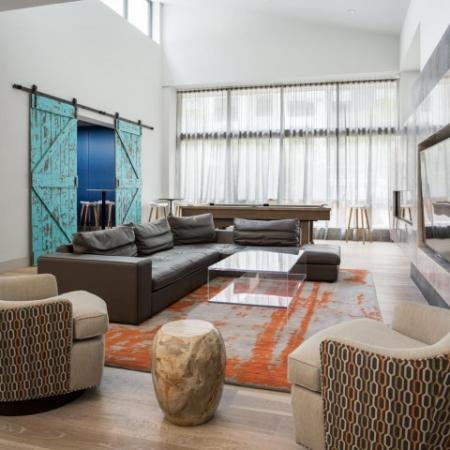 Elegant Living Room | Quincy Apartments | West of Chesnut
