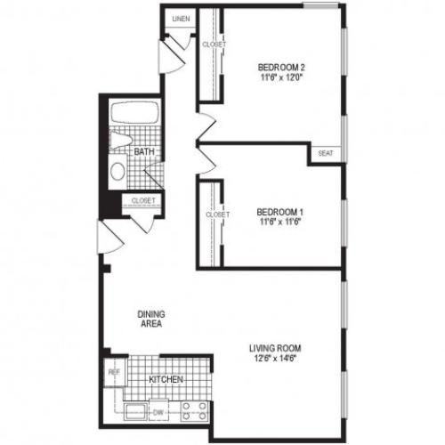 Floor Plan 8 | Stockbridge Court