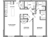 Floor Plan 6 | Beverly MA Apartments | Link 480