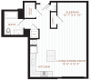 Studio Floor Plan | Nashua NH Apartments | Corsa
