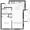 Floor Plan 3 | Nashua NH Apartments | Corsa
