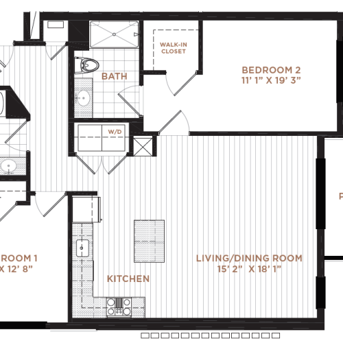 Floor Plan 9 | Apartment In Derry NH | Corsa