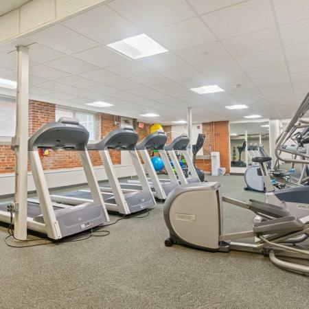 Cutting Edge Fitness Center | Apartments For Rent In Millbury MA | Cordis Mills
