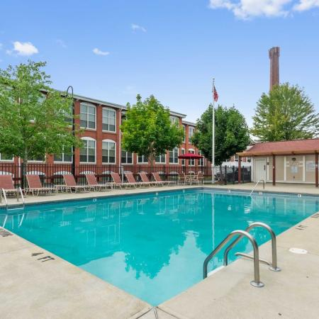Sparkling Pool | Apartments In Millbury MA | Cordis Mills