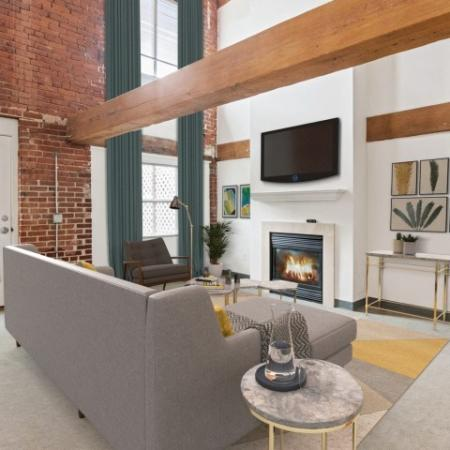 Elegant Living Room | Apartments In Millbury MA | Cordis Mills