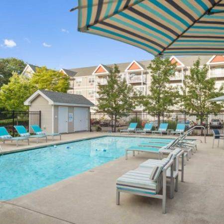 Pool at Kensington apartments at Chelmsford MA | Apartments for rent