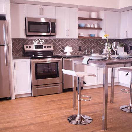 Modern Kitchen | Apartments Near Portsmouth NH | Veridian Residences
