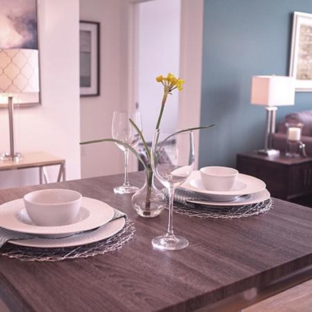 Spacious Dining Room | Portsmouth NH Luxury Apartments | Veridian Residences