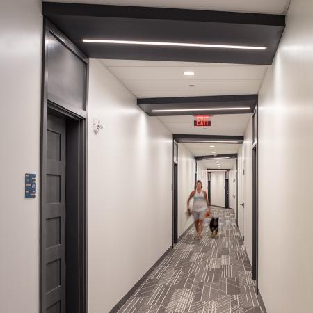 Spacious Hallway | Portsmouth NH Luxury Apartments | Veridian Residences
