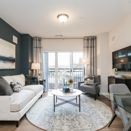 Spacious Living Room | Apartments in Elkridge, MD | Verde at Howard Square