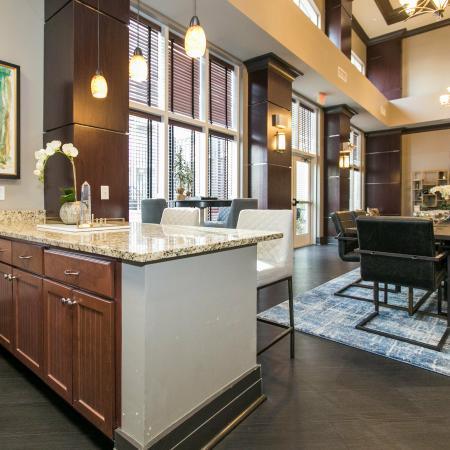 Elegant Community Club House | Elkridge MD Apartments | Verde at Howard Square