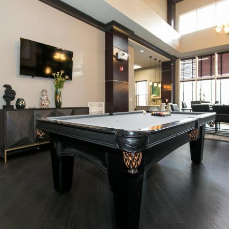 Resident Pool Table | Apartment in Elkridge, MD | Verde at Howard Square