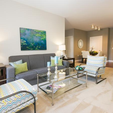 Luxurious Living Room | Apartment Homes in Elkridge, MD | Verde at Howard Square