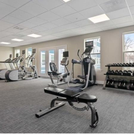 Cutting Edge Fitness Center | Everett MA Apartments | Wellington Parkside