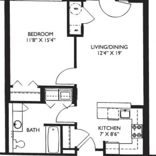 Floor Plan 9 | Luxury Apartments Malden Ma | Strata