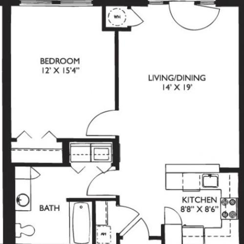 Floor Plan 6 | Apartments In Malden Ma | Strata