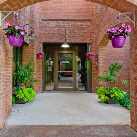 Main Entrance | Springfield MA Apartment Complexes | Stockbridge Court