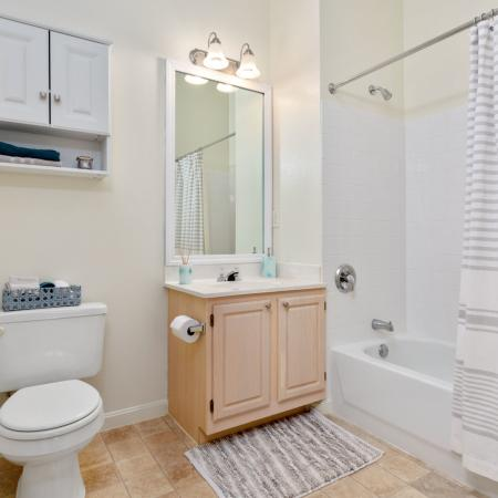 Spacious Bathroom | West Warwick RI Apartment For Rent |