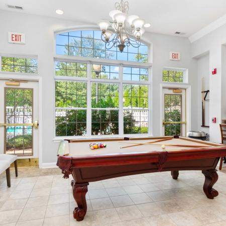 Resident Pool Table | Apartment in West Warwick, RI |