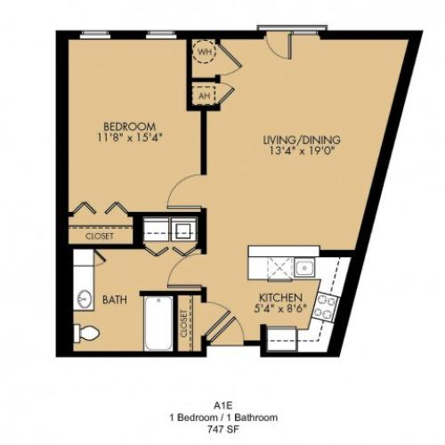 Floor Plan 3 | Malden MA Apartments | Strata
