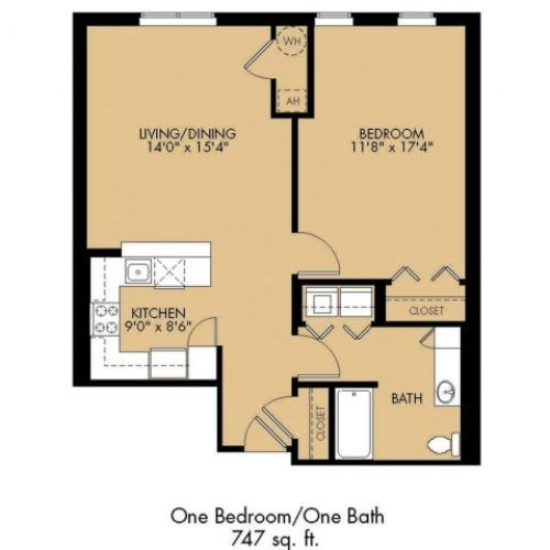 Floor Plan 8 | Malden Ma Apartments | Strata
