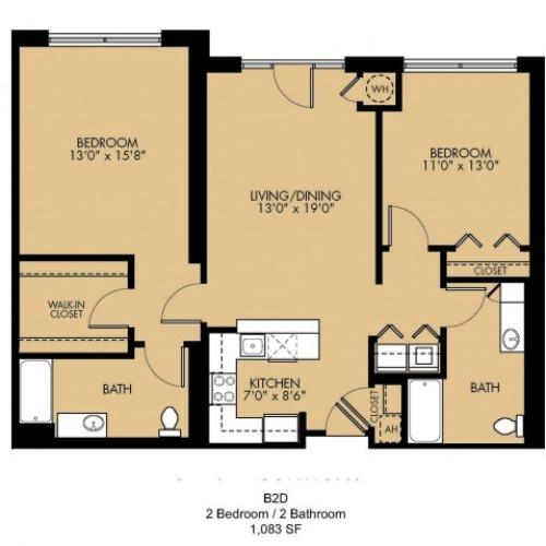 Floor Plan 15 | Apartments For Rent In Malden Ma | Strata