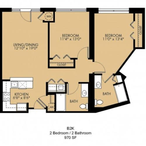 Floor Plan 21 | Apartments In Malden Ma | Strata