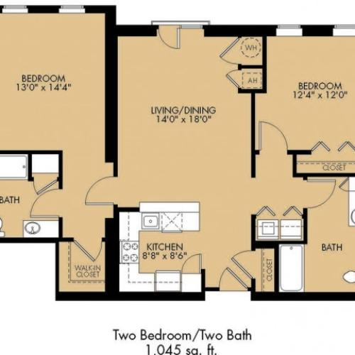 Floor Plan 23 | Malden Ma Apartments | Strata