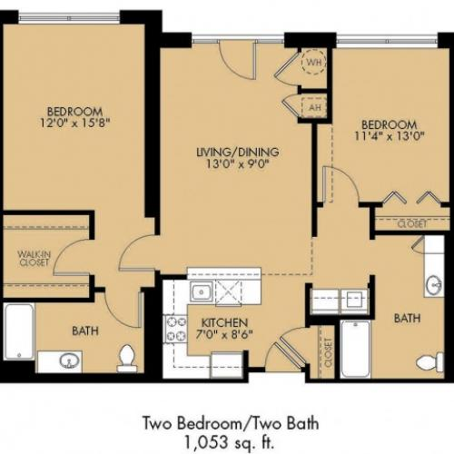 Floor Plan 24 | Luxury Apartments Malden Ma | Strata