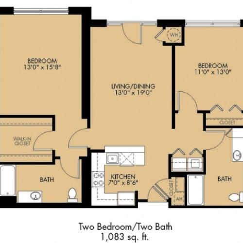 Floor Plan 25 | Apartments For Rent In Malden Ma | Strata