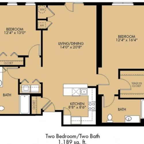 Floor Plan 26 | Apartments In Malden Ma | Strata