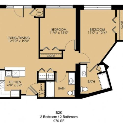 Floor Plan 28 | Malden Ma Apartments | Strata