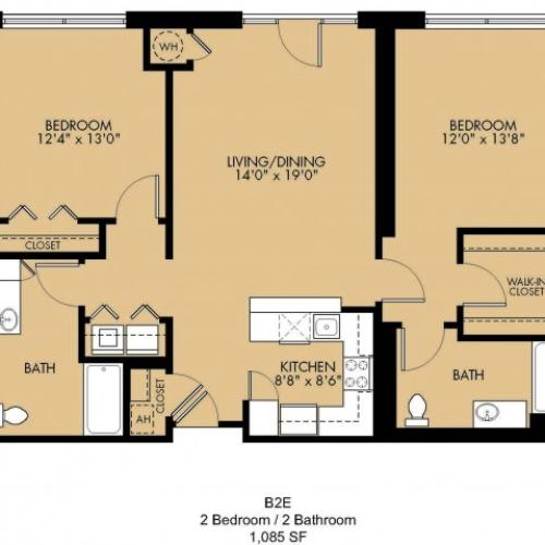 Floor Plan 29 | Luxury Apartments Malden Ma | Strata