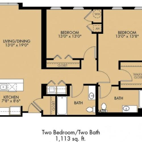 Floor Plan 30 | Apartments For Rent In Malden Ma | Strata
