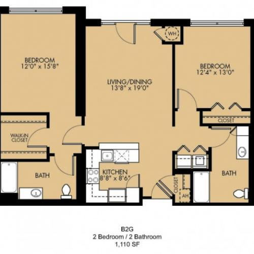 Floor Plan 31 | Apartments In Malden Ma | Strata