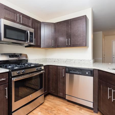 Beacon Place model apartment - Potomac