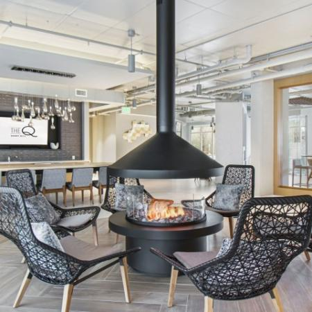 Fireside seating | The Q