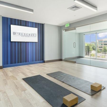 Yoga Studio Fitness Center | The Reserve at Burlington