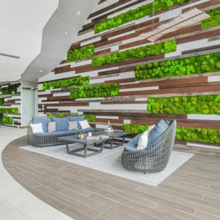 Solarium and Living Wall  | The Reserve at Burlington