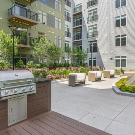 Grilling Area | The Reserve at Burlington