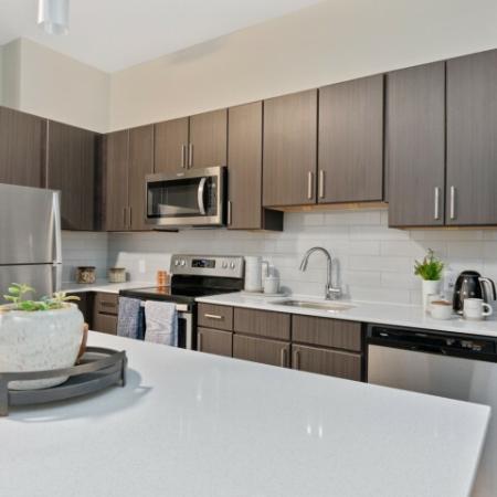 Kitchen | The Reserve at Burlington Apartments