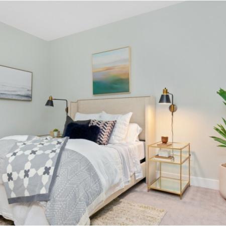 Bedroom | The Reserve at Burlington Apartments