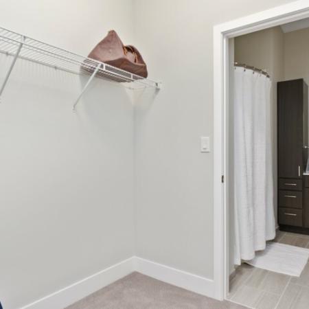Spacious Closet | The Reserve at Burlington Apartments